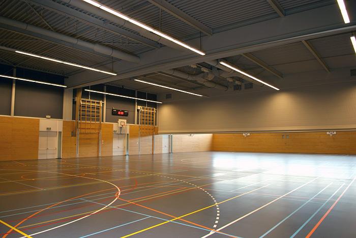 Sporthal de Appelgaard Hardinxveld-Giessendam Blauwe Zoom